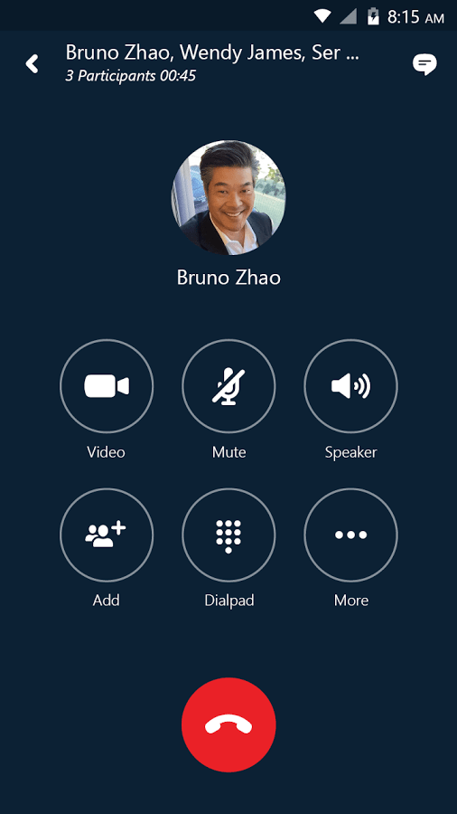 Skype for Business for Android Voice Calling