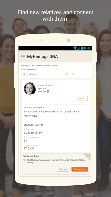 MyHeritage – Family tree, DNA and Ancestry search